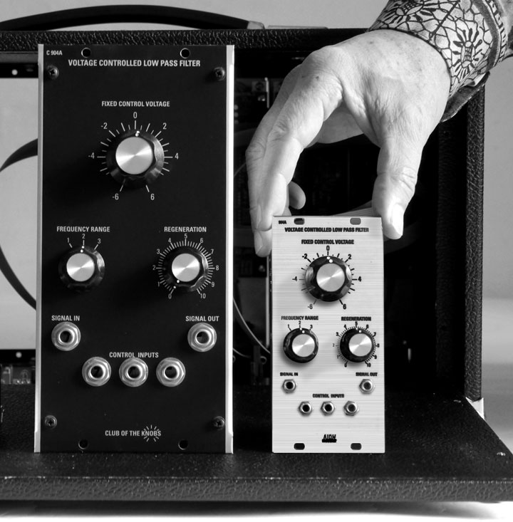 MUFF WIGGLER :: View topic - NEW Moog style designed filter